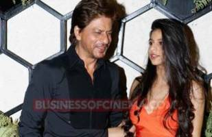 gauri khan reacts at daughter suhana's look from the starry restaurant launch!