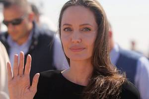 Angelina Jolie Speaks to and for Refugees in Kenya