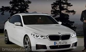 BMW 6 Series Gran Turismo Launch Video Shows Active Grille and Executive Drive