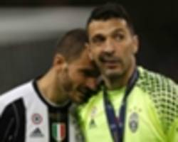 bonucci denies champions league final argument with barzagli and dybala
