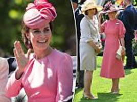 sophie wessex channels the duchess of cambridge at ascot