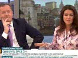 piers morgan blames hot weather as gmb goes into meltdown