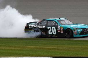No. 20 XFINITY Series win at Michigan encumbered by illegal splitter