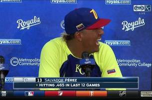 Salvy on his grand slam: 'You guys know me — I like to swing'