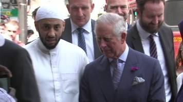 Prince Charles visits Finsbury Park Mosque