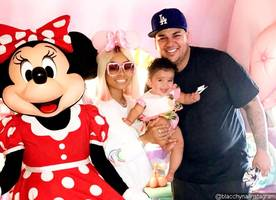 rob kardashian and blac chyna are 'back on' following family trip to disneyland with dream