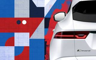 jaguar teaser provides a first glimpse of its new £28,500 suv the e-pace