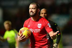 lee johnson says aaron wilbraham has 'options' with striker yet to sign fresh bristol city deal