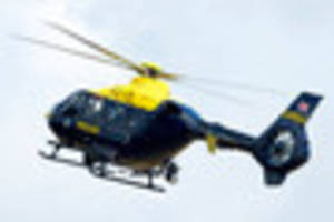 Police helicopter searches for 'suicidal' man in North Devon