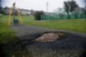 this plymouth park has been targeted by arsonists for the second...