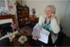 Family's anger after woman, 87, chased over £5,100 bill