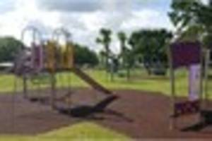 New swings and climbing wall in £35k refurb at Jubilee Park