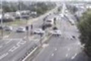a12 burst water main at romford: lane closure to continue