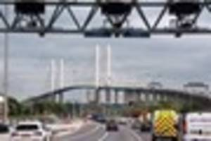 M25 Dartford Tunnel reopens on both sides after traffic...