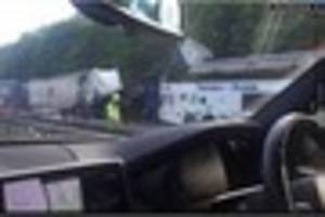 Police want your dash cam footage to help with their M25 crash...