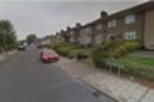 Three people were treated for smoke inhalation at a Bromley house...