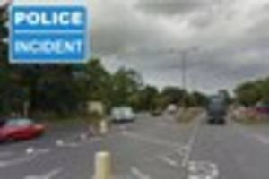 Cyclist taken to hospital with serious head injuries after Hooley...