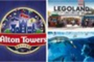 this is how you can enjoy alton towers, legoland and more for a...
