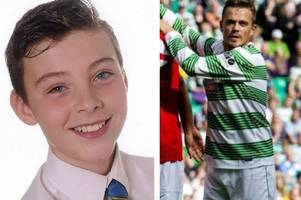 charity fundraiser will bring old firm legends to east kilbride in memory of schoolboy lee jamieson