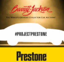 Barrett-Jackson and Prestone Press Conference Scheduled for Northeast Auction