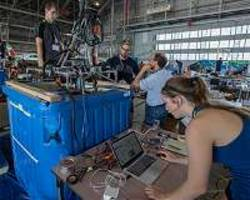 University Students Mine for Water at NASA's Mars Ice Challenge