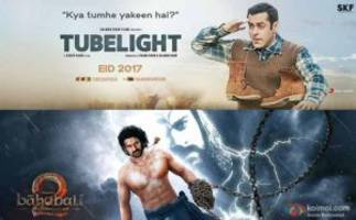 Will Tubelight Collect Over 128 Crores In 3 Days To Beat Baahubali 2 Hindi's Record?