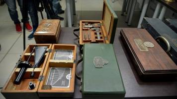 argentina police seize trove of hidden nazi artifacts