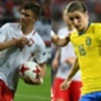 Thursday: Slovakia v Sweden, England v Poland