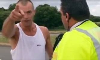 British Police Officers Show Incredible Restraint Dealing with Mad Driver
