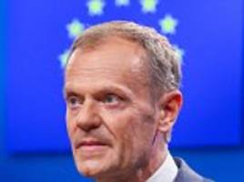 donald tusk suggests uk could stay in eu