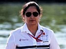 f1's first female team boss kaltenborn quits sauber
