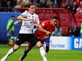 Germany 1-1 Chile: Alexis Sanche scores record 38th goal