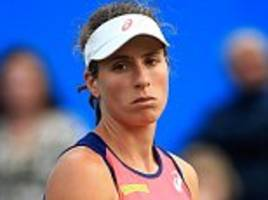 Johanna Konta loses cool as she's blown away in Birmingham