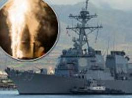 us navy conducts failed missile defense test off hawaii