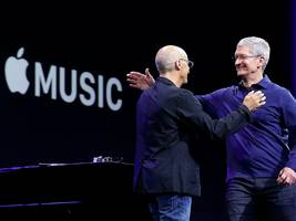 apple reportedly wants music labels to take a smaller revenue cut from its streaming service (aapl)