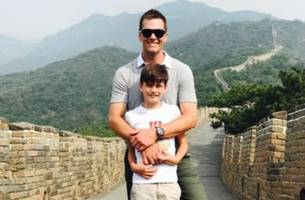 Tom Brady went on a tour of Asia with his son