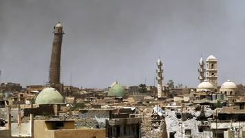 Battle for Mosul: Destruction of al-Nuri mosque 'shows IS defeated'