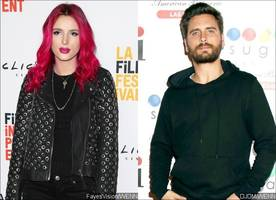 Getting Back Together? Bella Thorne Reportedly Hangs Out in Scott Disick's Backyard