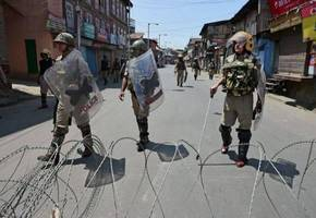j&k: normal life paralysed following killing of 3 local let terrorists in pulwama