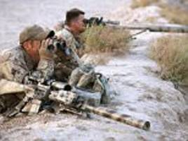 canadian sniper kills an isis fighter from two miles away