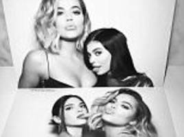 kylie jenner licks khloe kardashian's chest in flashback