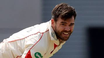 Lancashire v Hampshire: James Anderson takes 4-20 as Red Rose win by innings
