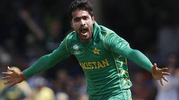 mohammad amir joined essex on wasim akram's advice