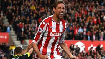peter crouch: stoke city's former england striker still hungry for goals at the age of 36