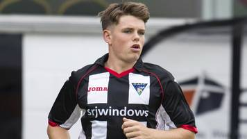 dundee sign lewis spence and extend kostadin gadzhalov stay