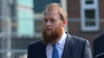 Gwent Police officer jailed for biting man's lip in row