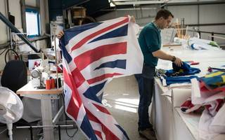 British manufacturing order books strongest in almost 30 years