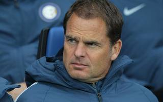 frank de boer set to succeed allardyce at crystal palace