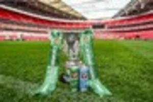 date set for derby county's carabao cup tie at grimsby town