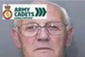 pensioner abused army cadets